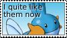 Stamp: Mudkips by pralinkova-princezna