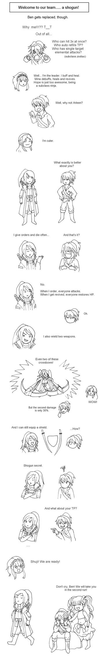 EO3: Ben vs Shuji by pralinkova-princezna