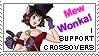 Stamp: I support crossovers by pralinkova-princezna