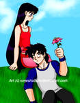 GotenxRei :Blossoming Love: