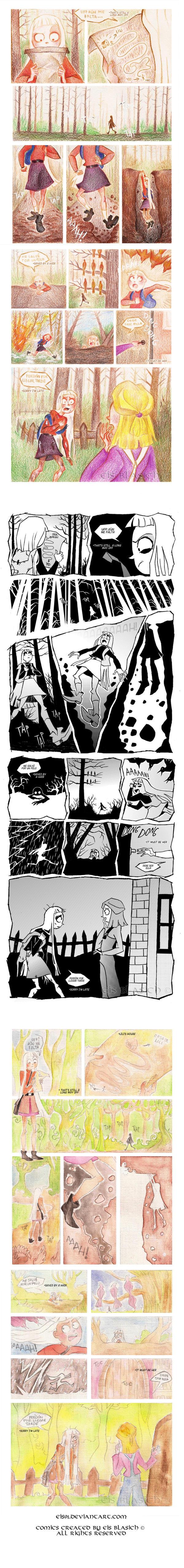 Comic work-  adventure-terror-fantasy by Eis-Blasich