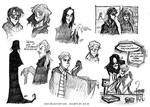 Harry Potter - pencil sketches