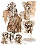 Thranduil sketches