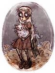 Weird Girl_frankenweenie by ElisEiZ