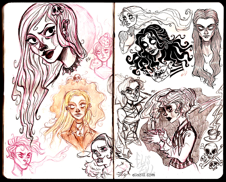 Sketch mix by ElisEiZ