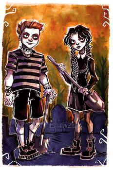 Addams Siblings