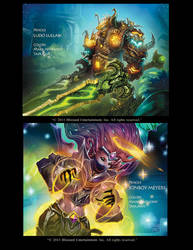 WOW cards part 2 by Markovah