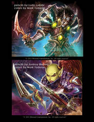 WOW cards part 3 by Markovah