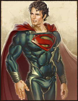 Man of Steel Be Still!