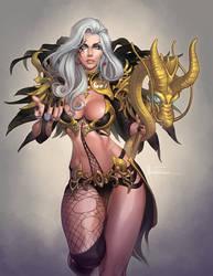 Cabal Wizard Character: Alexanya Atoz