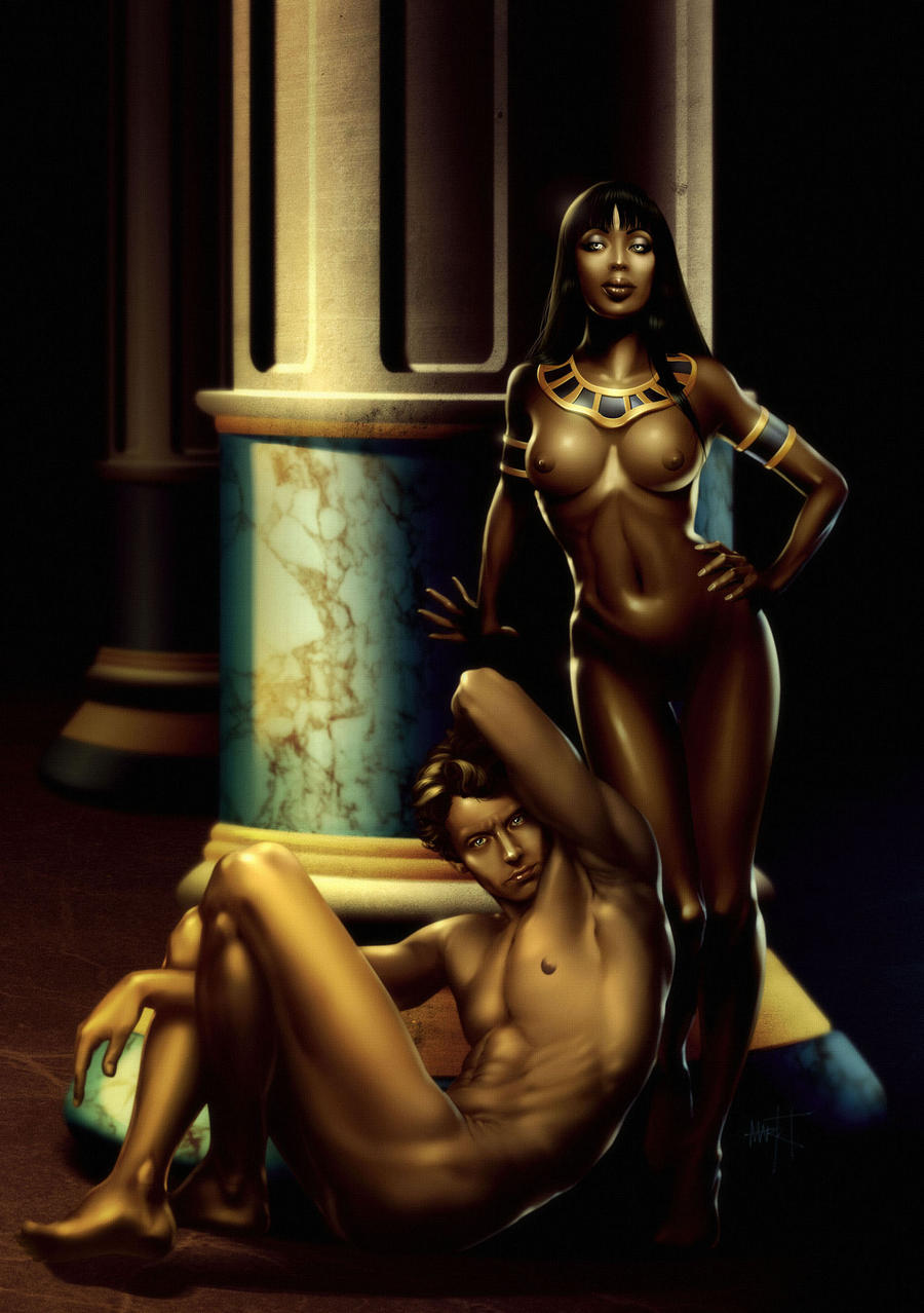 Cleopatra and Anthony by ~Markovah