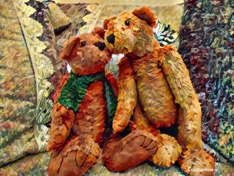 Arthur and Georgie by SQ
