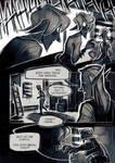 Perish - comic page test by Kinnebrand