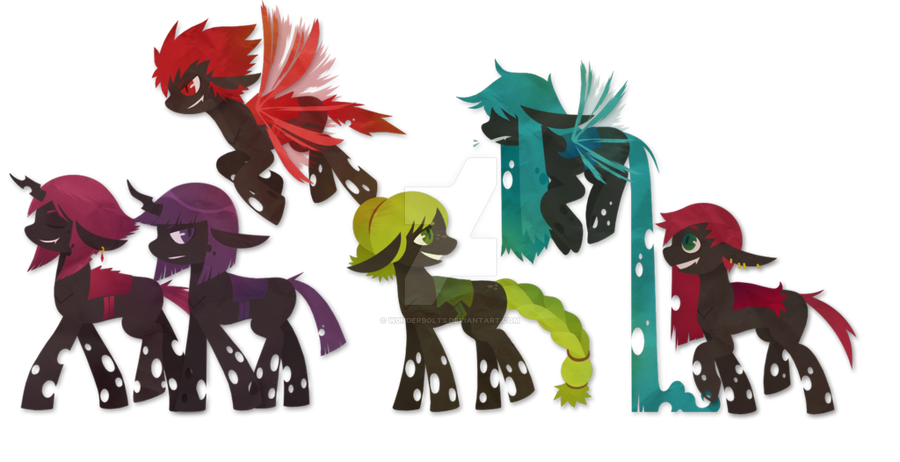 Mlp Changeling Tf: My Little Changeling: Feeding Is Magic By W0nderbolts On
