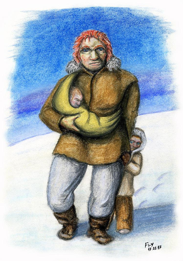 Homo Neanderthalensis by MrFlyX