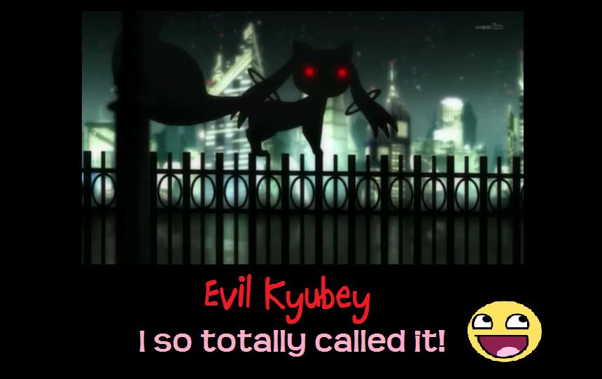 evil kyubey by kieitogashi on deviantart