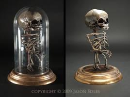 Bell Jar Baby sculpture