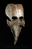 Bronze Excarnate mask by MrSoles