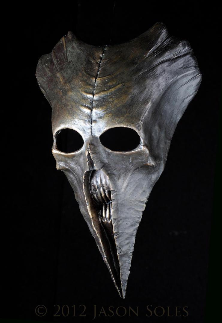 Bronze Carnivean Mask by MrSoles