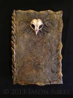 Owl Skull Book by MrSoles