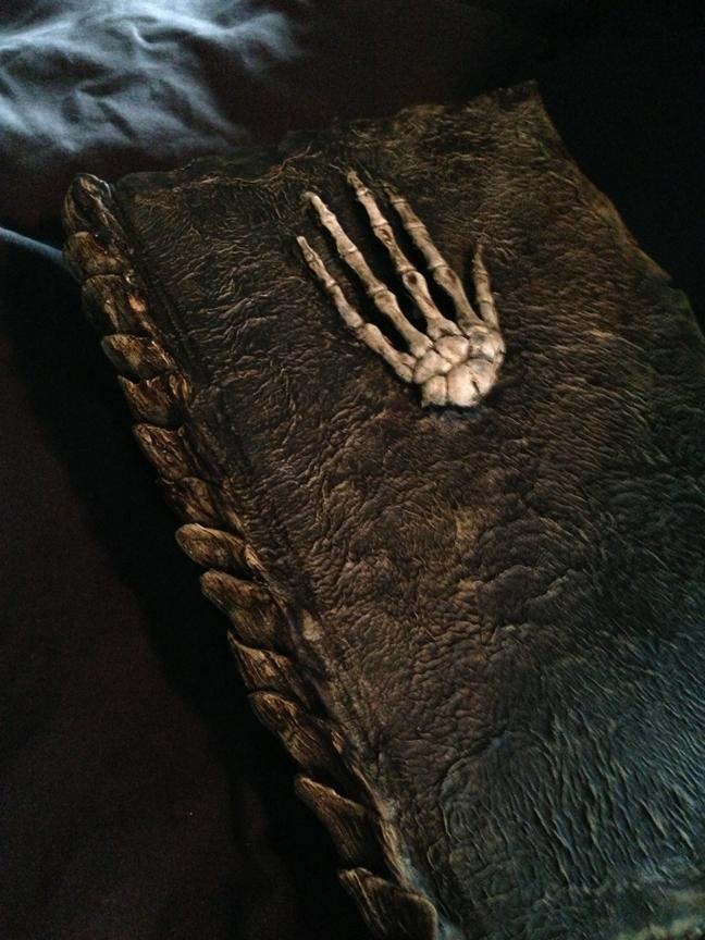 Skeleton Hand Sketchbook by MrSoles