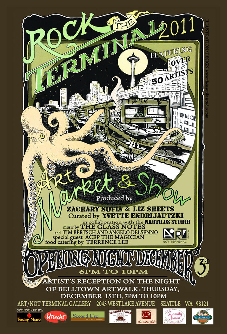 Rock the Terminal show poster by MrSoles