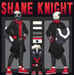 Shane Knight - Reference Sheet (Basic + Chibi) by nazcapilot