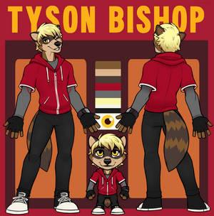 Tyson Bishop - Reference Sheet (Basic + Chibi)