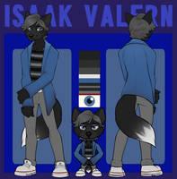 Isaak Valern - Reference (Basic + Chibi)