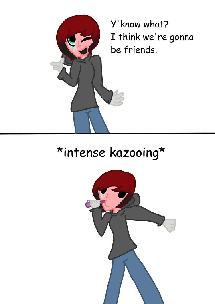 Kazooing