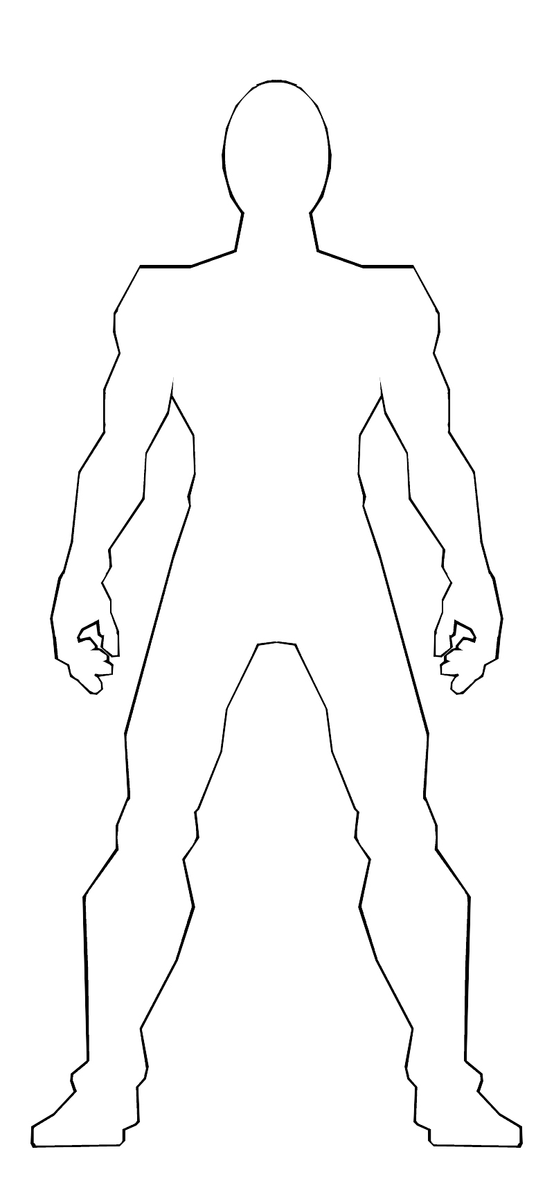 male body template by ss209 on DeviantArt