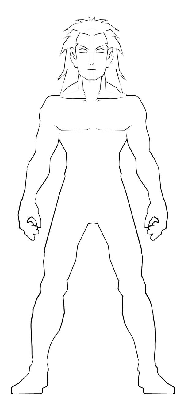 male body template 2 by ss209 on DeviantArt