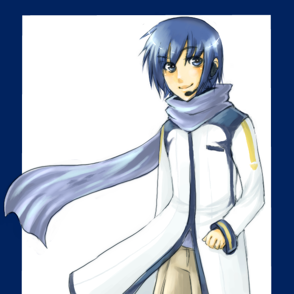 Vocaloid Kaito by lovex3