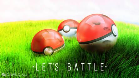 Let's battle by 1pencilTHIEF