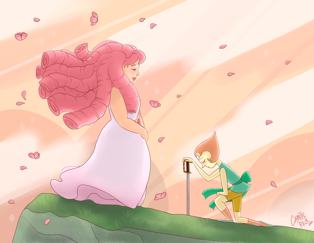 """I will fight in the name of Rose Quartz and everything that she believed in."""