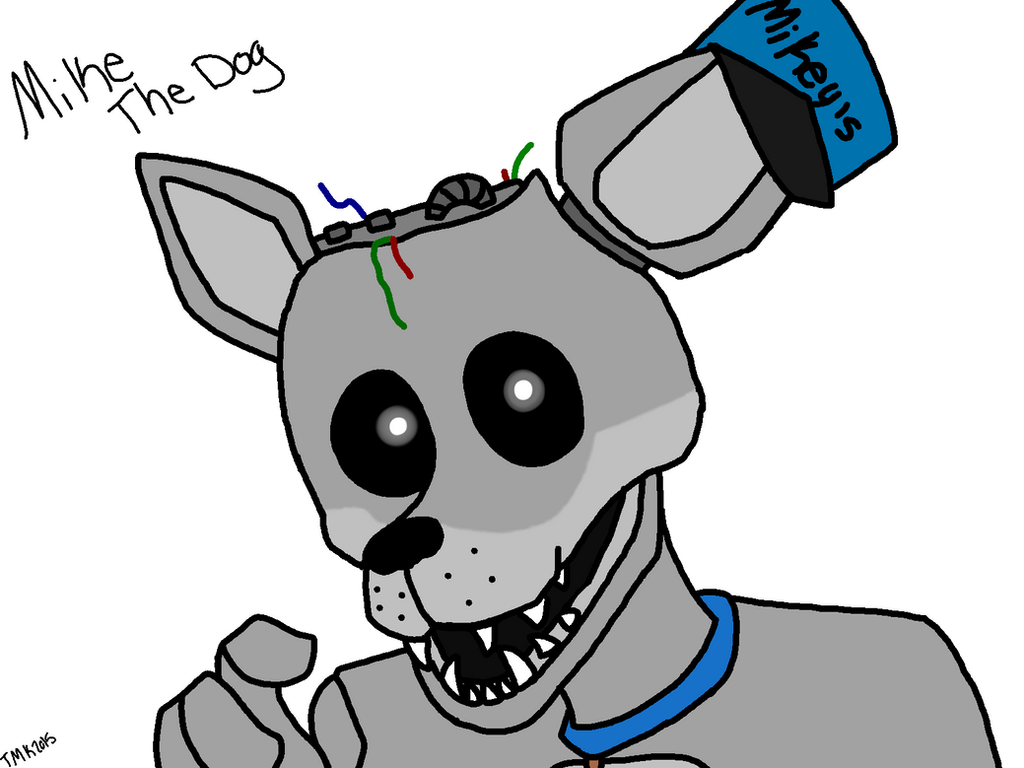 Mike the dog rebornica fnaf by thatmysteriouskitten on deviantart