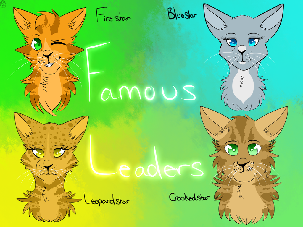 warrior cats famous leaders redraw by