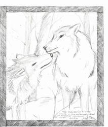 Wolves by lekogobohobo