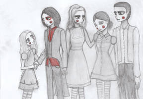 We're Family by Willowwolf23