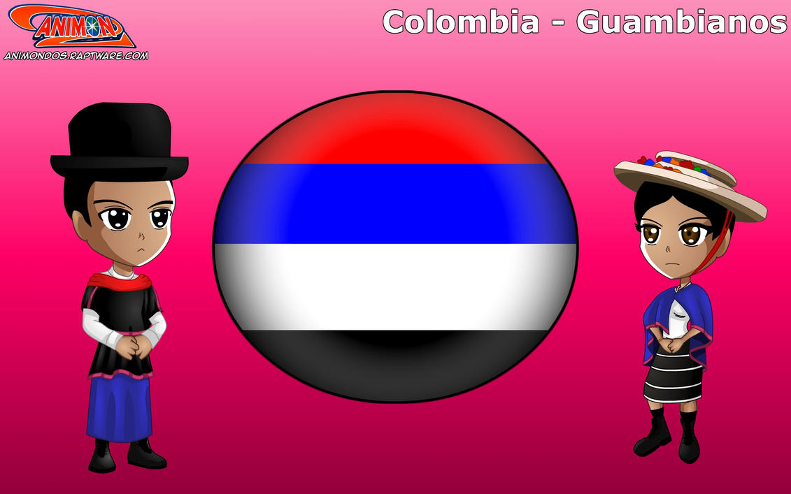 Chibi Gumbiano, Colombia - Animondos by Dougieus