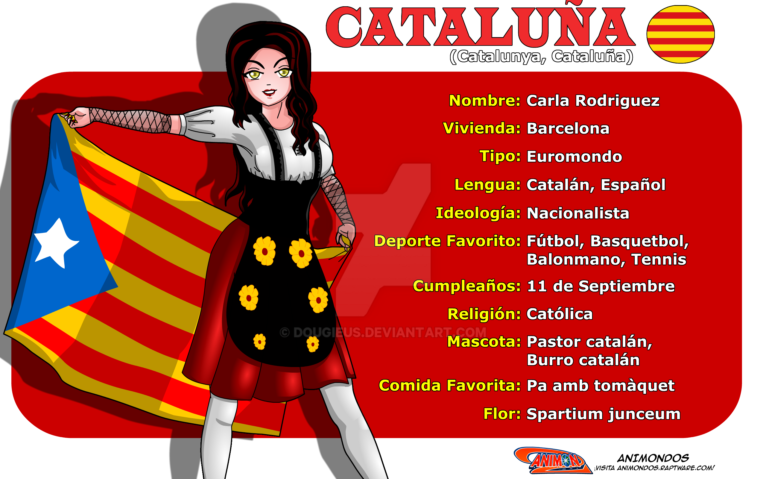 Perfil de Catalonia de Animondos by Dougieus