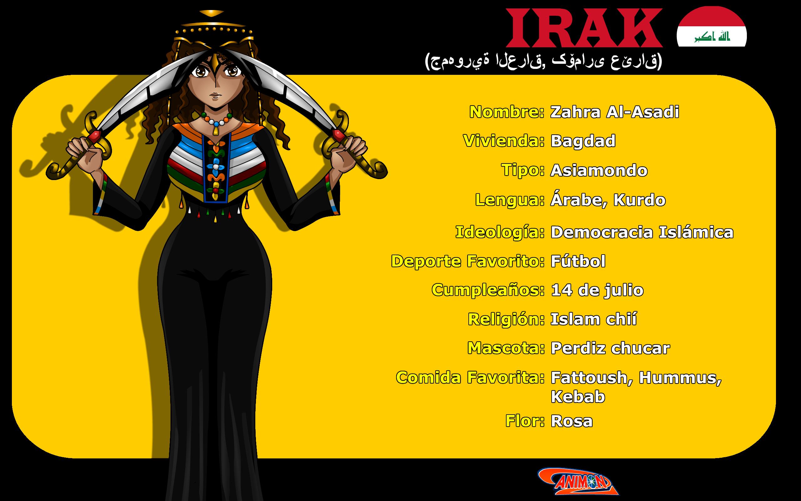 Perfil de Irak de Animondos by Dougieus