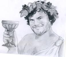 Dionysus by DaughterGothel