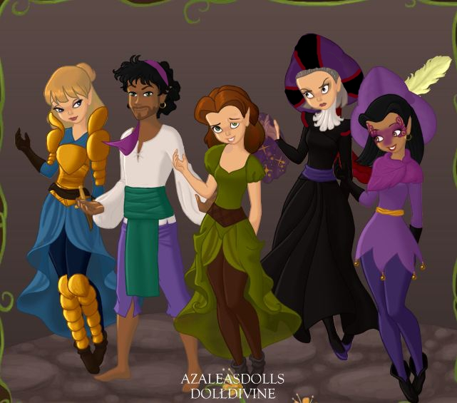 The hunchback of notre dame by daughtergothel on deviantart