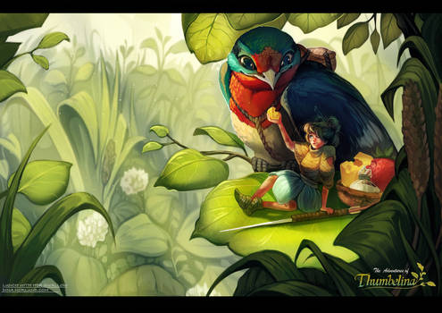 The Adventures of Thumbelina: Lunch