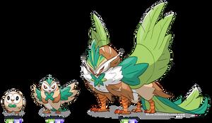 Rowlet - Fake Evolution