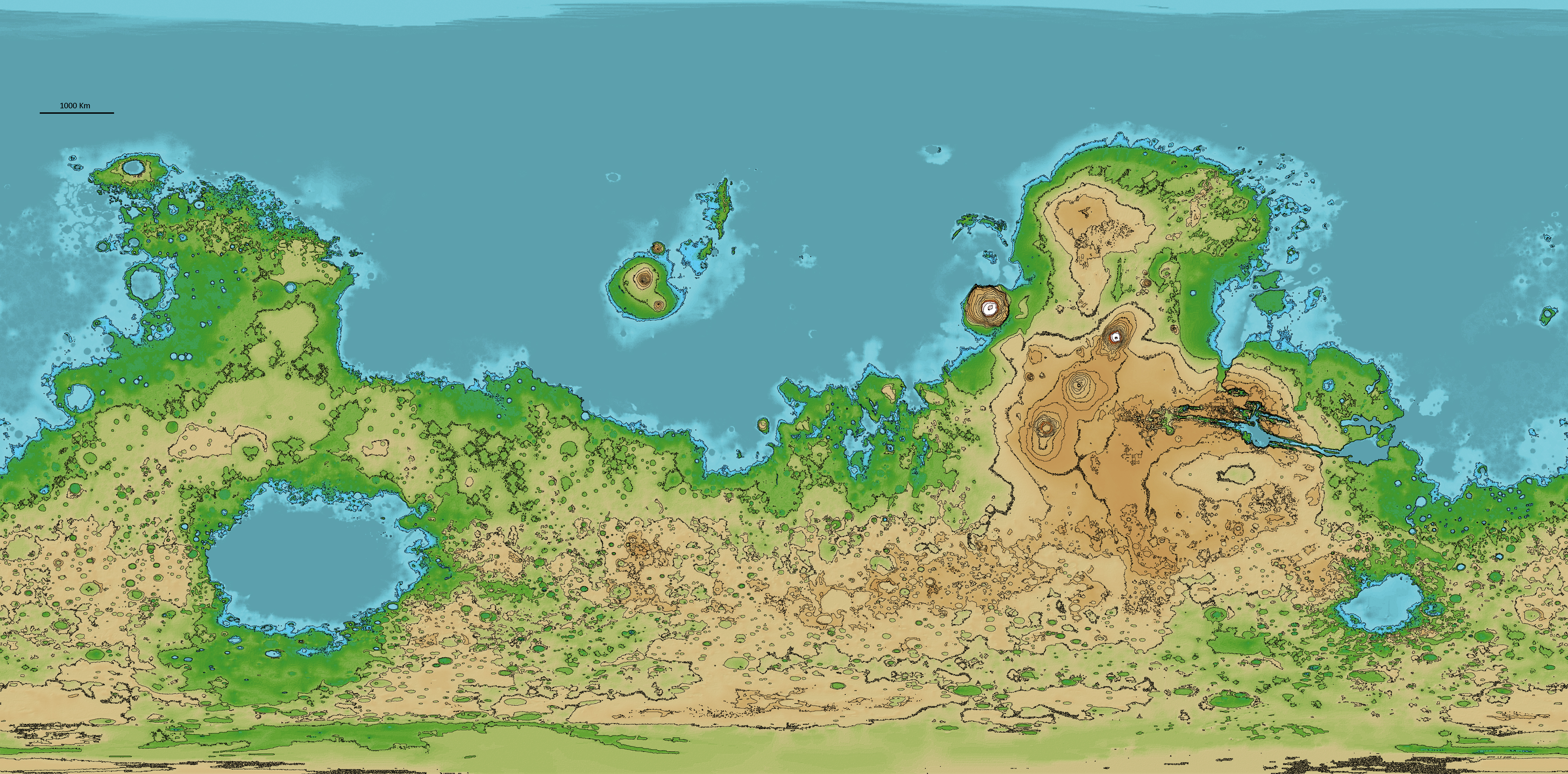 Mars Relief Map by AxiaTerraArtUnion on DeviantArt on borealis basin on mars, detailed map of mars, map of a trip to mars, political map of mars, map of mars space, map of mars land, modern map of mars, map of mars with water, terraforming of mars,