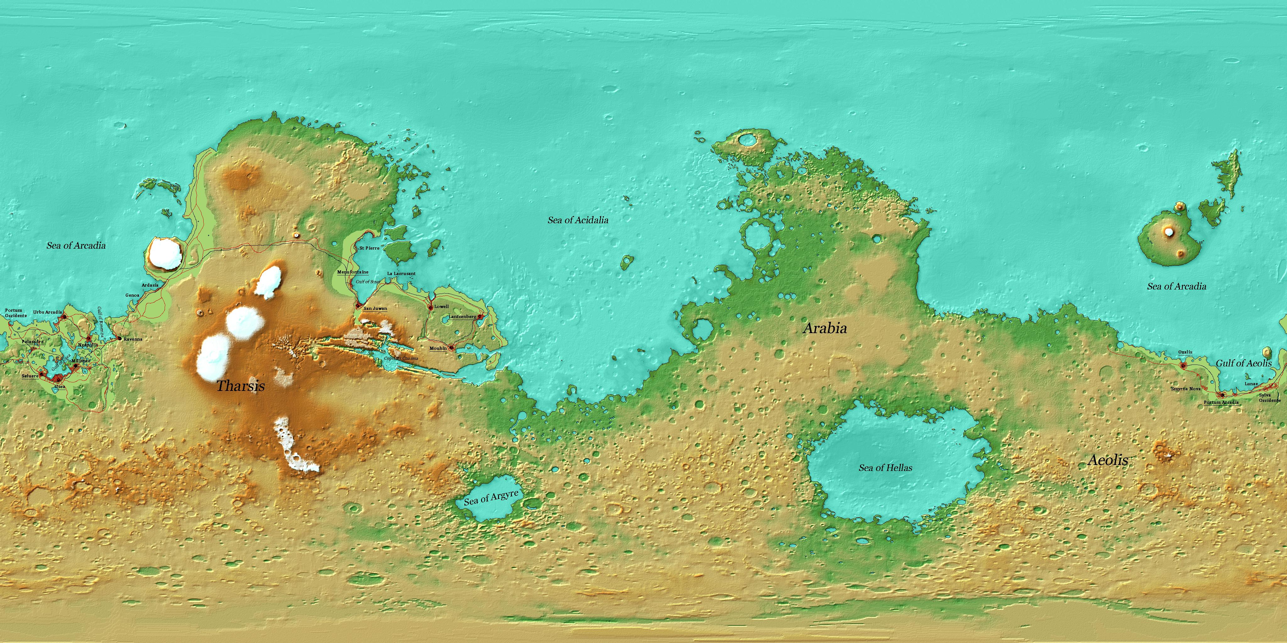 Mars Political Map by AxiaTerraArtUnion on DeviantArt on borealis basin on mars, detailed map of mars, map of a trip to mars, political map of mars, map of mars space, map of mars land, modern map of mars, map of mars with water, terraforming of mars,