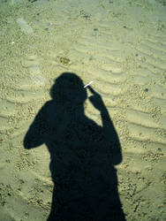 smoking shadow by Ucus