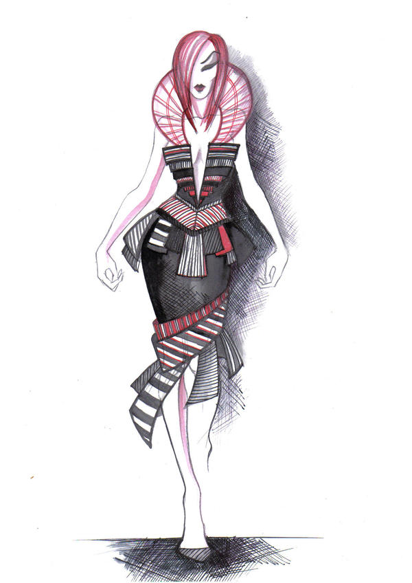 fashion sketches 1 by Inese